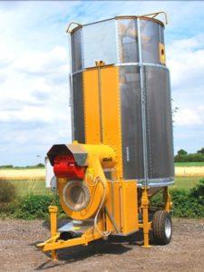 Мобильная зерносушилка CPT 10/77F