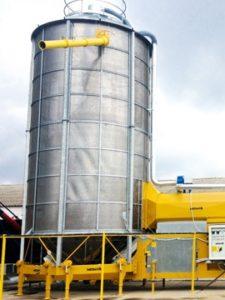 Мобильная сушилка F 75/570 F на дизельном топливе