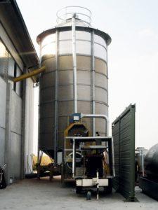 Мобильная сушилка F 75/570 F на сжиженном газе