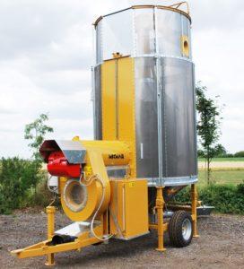 Мобильная зерносушилка серии CPT